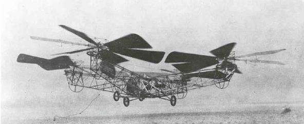 無人機第二篇-多軸飛行器的過去